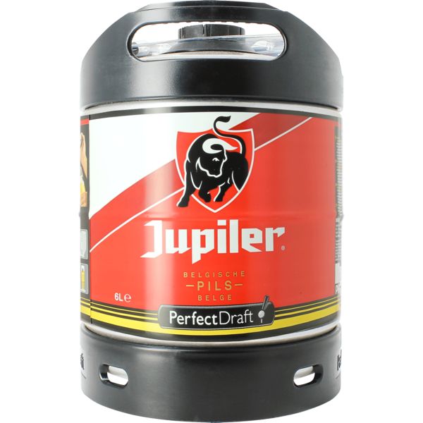 Jupiler Pils 6 litre PerfectDraft Keg