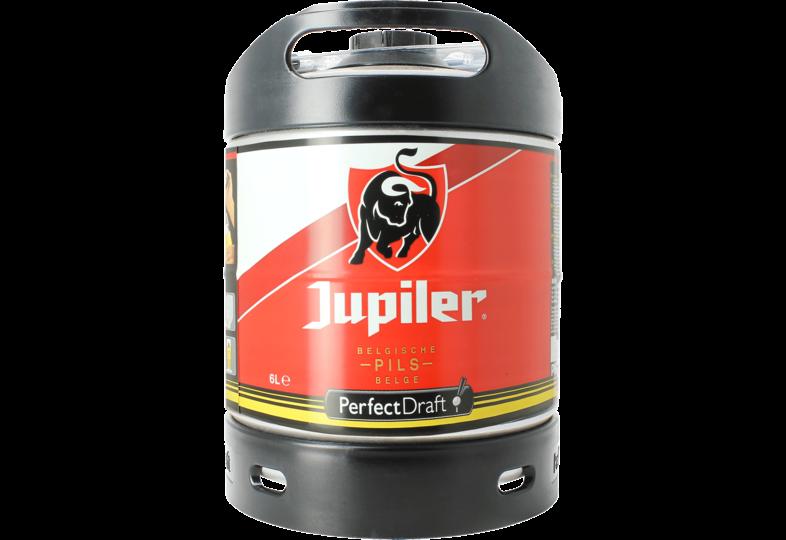 Fässer - Jupiler Pils 6L Pils Perfect Draft Fass - Mehrweg