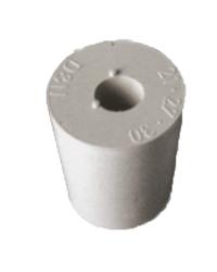 Cuves de filtration - Rubber bung 21-27mm + 9mm hole