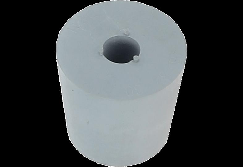 Dames-Jeannes - Bouchon en caoutchouc 26 à 32 mm + trou de 9 mm