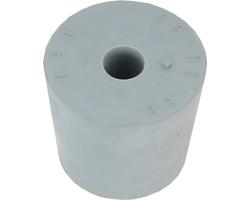 Dames-Jeannes - Rubber bung 29-35mm + 9mm hole
