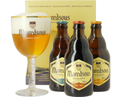 GIFTS - Maredsous Gift Pack (3 beers + 1 glass)