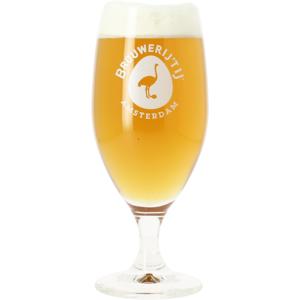 Brouwerij 't IJ beer glass