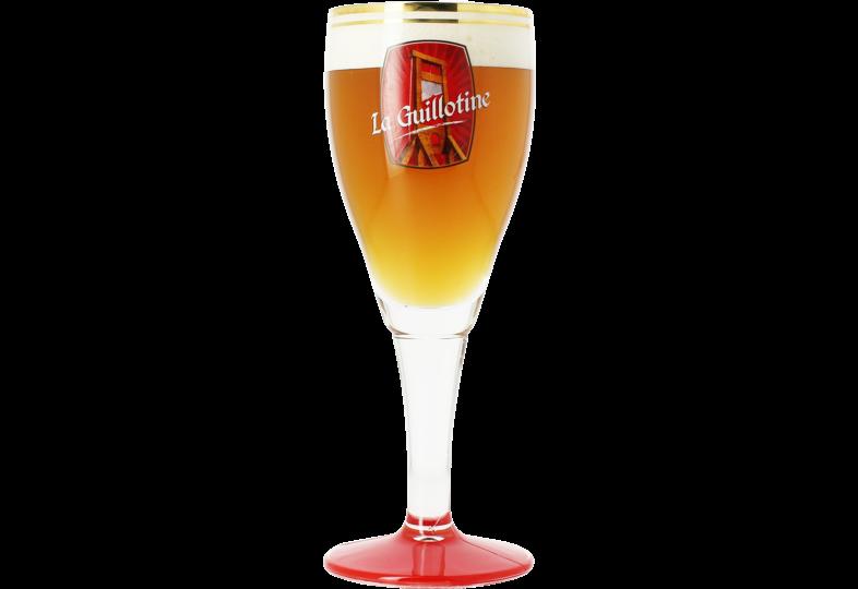 Verres à bière - Verre Guillotine - 33 cl