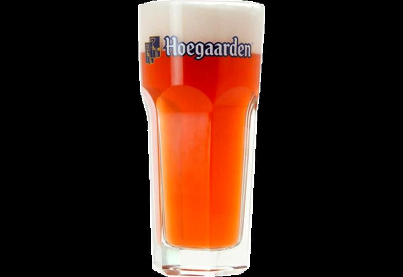 Beer glasses - Hoegaarden Rosée 25cl glass