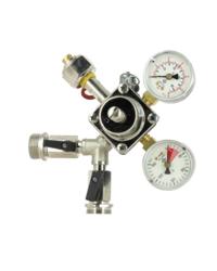 Détendeurs et bouteilles de gaz - Détendeur primaire pour CO2 Micro-Matic 2 sorties 3 Bar