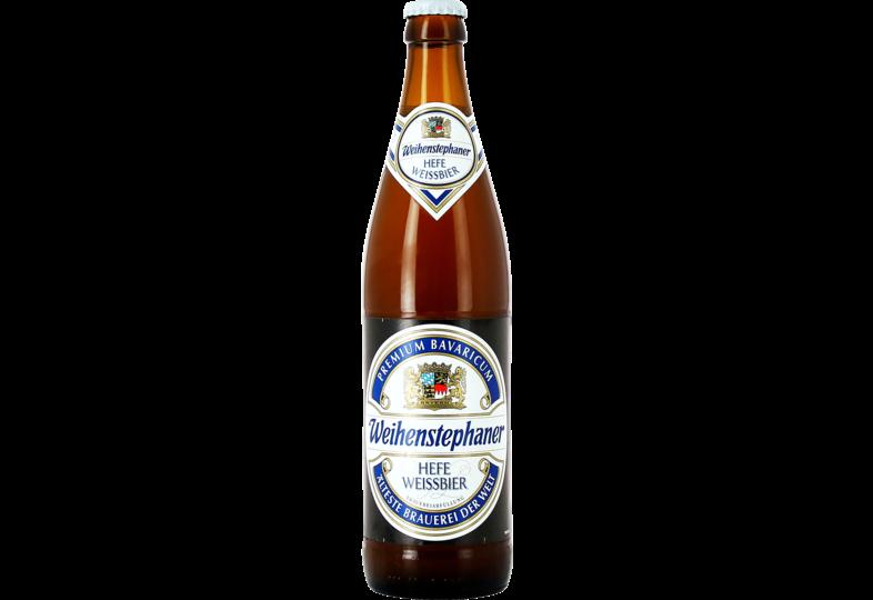 Bottled beer - Weihenstephan Hefe Weissbier 50 cl
