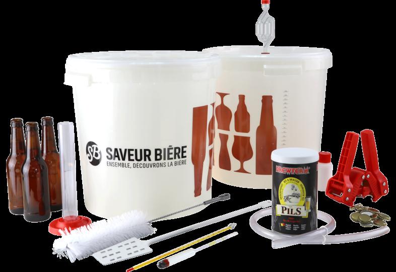 Kits de brassage - Kit de brassage complet bière blonde pils