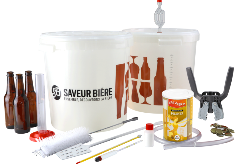 Brewing kits - Complete Brewing Starter Kit Blond Beer