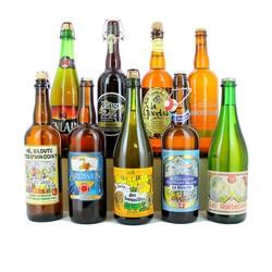 Samlingar - Assortiment Great Large French 75cl Bottles - - Gift Pack