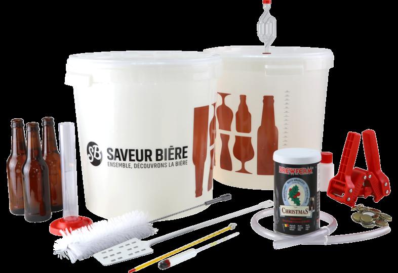 Kits de brassage - Kit de brassage complet bière de Noël
