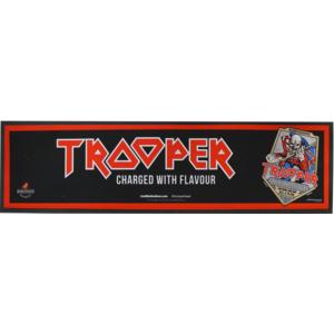 Tapis de bar Iron Maiden Trooper