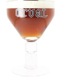 Bierglazen - Verzamelitem glas Orval - 3L