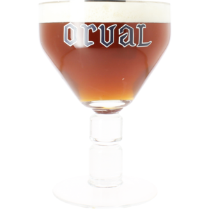 Orval 3 litre collectors glass