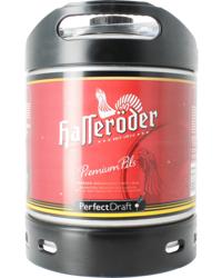 Bier Tapvatjes - Hasseröder Pils PerfectDraft Vat 6L