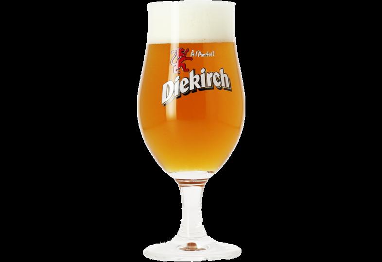 Ölglas - Diekirch beer glass - 25 cl
