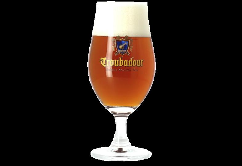 Bierglazen - Glas Troubadour 33cl