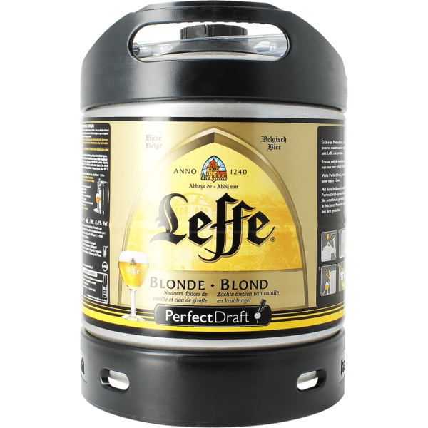 Leffe Blonde 6L Perfect Draft Fass