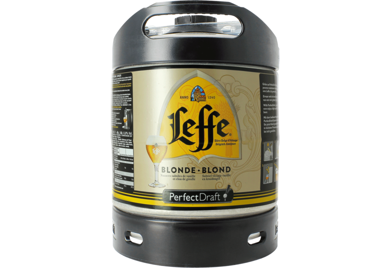 Fusti di birra - Fusto Leffe Blonde PerfectDraft 6-litri