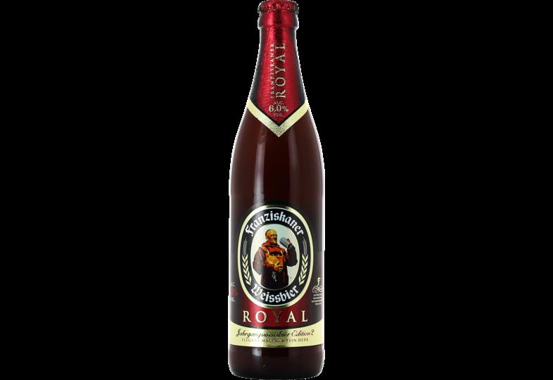 Bottled beer - Franziskaner Weissbier royal Edition 2