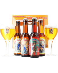 Gift box with beer and glass - Giftpack Speciaalbier Sans Culottes