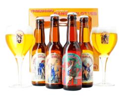 """Coffrets cadeaux verre et bière - birra artigianale Confezione Regalo """"sans Culottes"""""""
