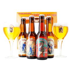 Coffrets cadeaux verre et bière - Coffret Bières Artisanales Sans Culottes