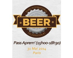 Tickets Paris Beer Week - Ticket aprem' 31/05 Paris International Beer Celebration
