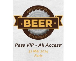 Tickets Paris Beer Week - Ticket VIP All Access Paris International Beer Celebration