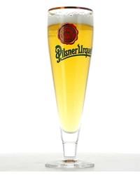 Beer glasses - glass Pilsner Urquell flûte logo vert