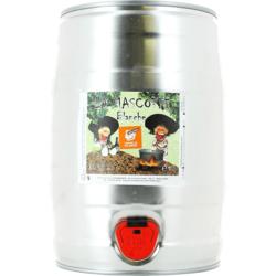 Fûts de bière - Fût 5L La Mascotte Blanche
