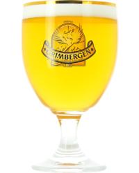 Verres à bière - Verre Grimbergen col doré - 33 cl