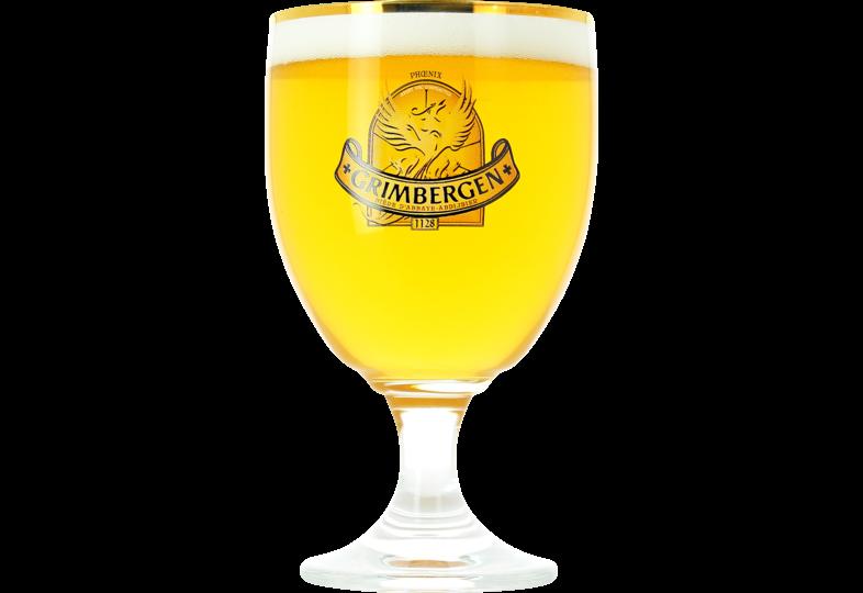 Bicchieri - Grimbergen - 25cl Golden Rim Bicchiere