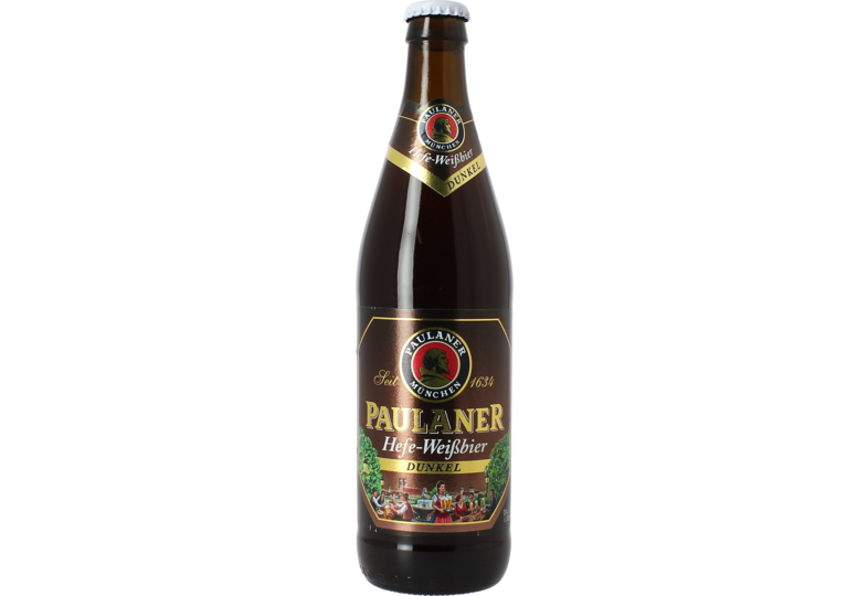 Flessen - Paulaner Hefe-Weissbier Dunkel