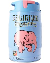 Fûts de bière - Fût 5L Delirium Tremens Fontaine SPI