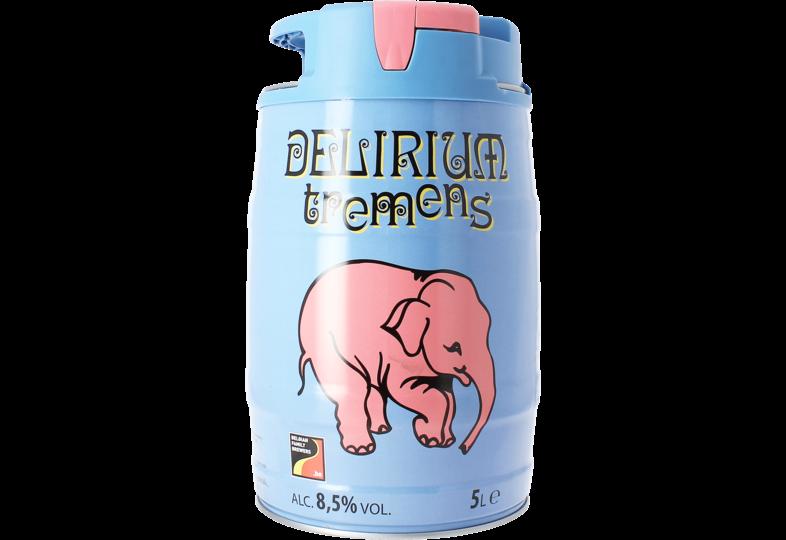 Bier Tapvatjes - Een tapvat van 5 liter met ingebouwd druksysteem van Delirium Tremens