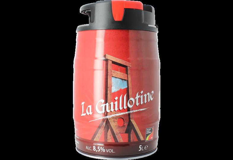 Bier Tapvatjes - La Guillotine Biervat 5L
