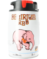 Kegs - Delirium Red 5L IPS Keg