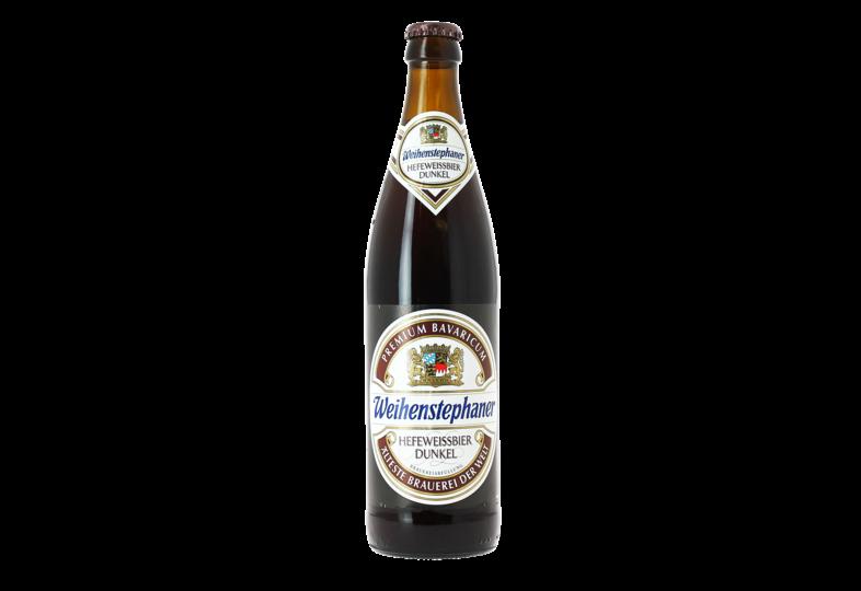 Bottled beer - Weihenstephaner Hefeweissbier Dunkel