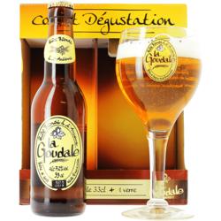 Coffrets cadeaux verre et bière - Coffret Goudale (1 bouteille 33cl + 1 verre)