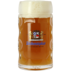 Ölglas - Weihenstephan 50cl Stein beer glass