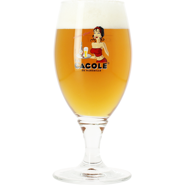 La Cagole 25cl glass