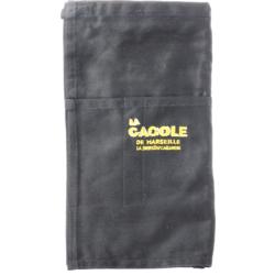 Accessoires et cadeaux - Tablier de brasseur noir La Cagole