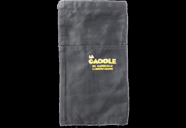 Accessori e regali - Grembiule da birraio nero La Cagole
