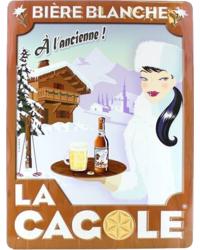 Accessoires et cadeaux - Grande plaque La Cagole Blanche