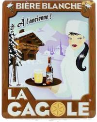 Cadeaus en accessoires - Klein reclamebord La Cagole Blanche