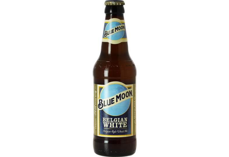 Bottled beer - Blue Moon White Ale
