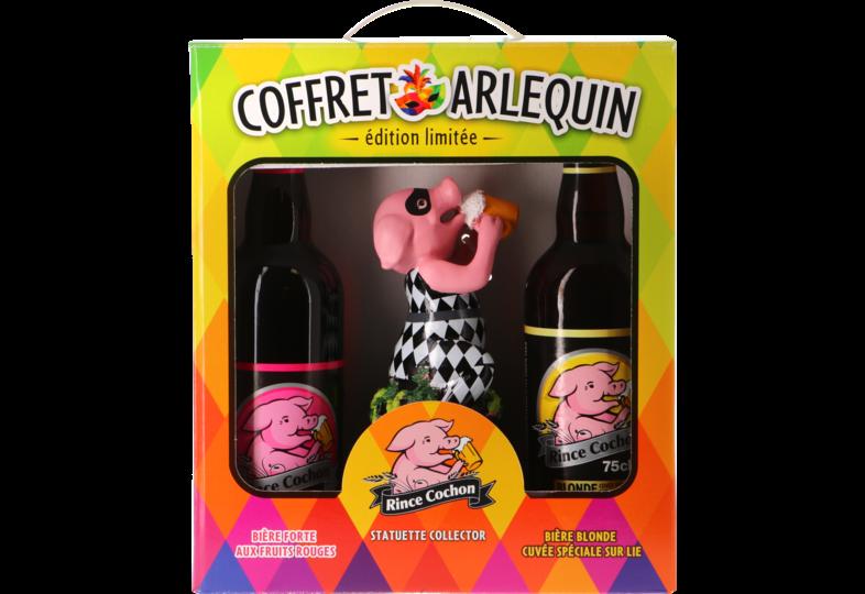 Confezione regalo con birra e bicchieri - Confezione Regalo di Rince Cochon per collezionisti