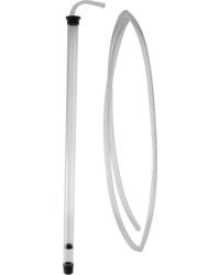 Accessoires du brasseur - Auto-siphon automatique Fermtech avec 2 mètres tuyau PVC 12/16 mm Jumbo