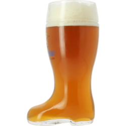 Beer glasses - Weihenstephaner 1l boot glass